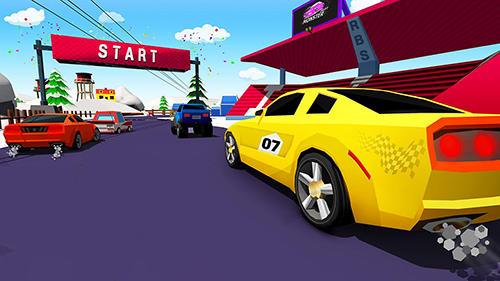 de courses Skid car rally racer pour smartphone