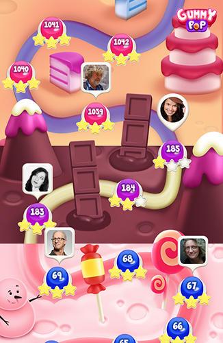 Arcade-Spiele Gummy pop für das Smartphone