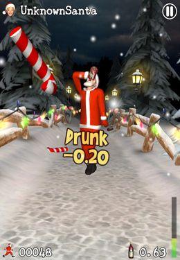 Besoffener Weihnachtsmann für iPhone