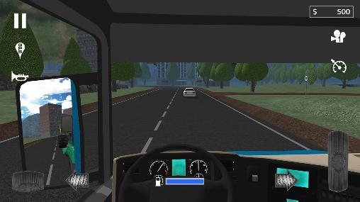 Cargo transport simulator Screenshot