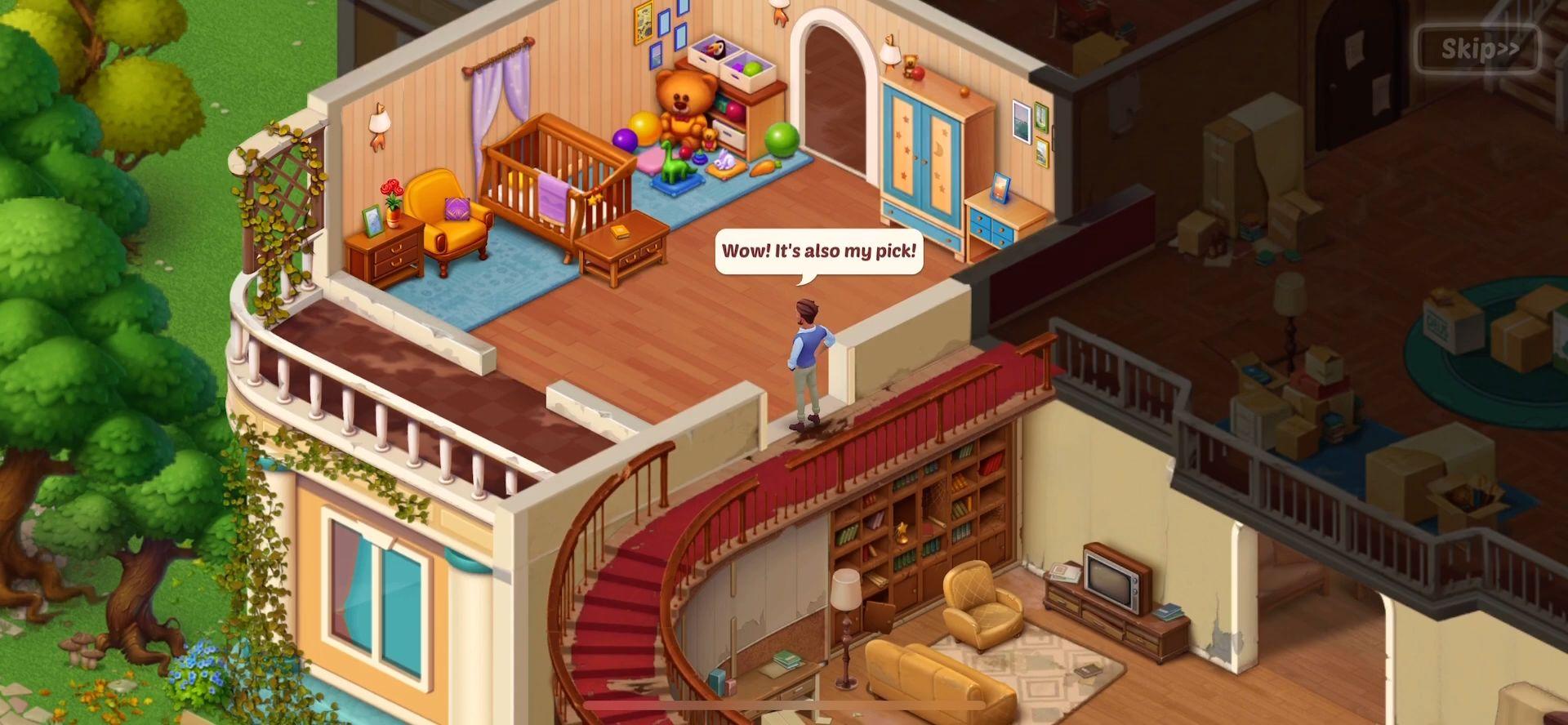 Baby Manor: Baby Raising Simulation & Home Design скріншот 1