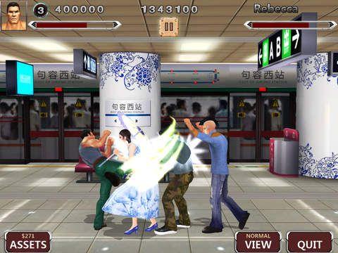 Screenshot Kämpferlegende Pro auf dem iPhone