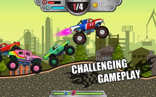 Monster wheels: Kings of crash pour Android