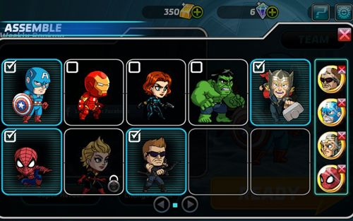 Arcade games: download Marvel: Run, jump, smash! to your phone