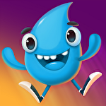 Stack jump drop Symbol