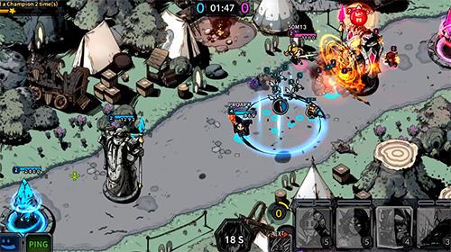 Champions rising: Legends of Elusia für Android