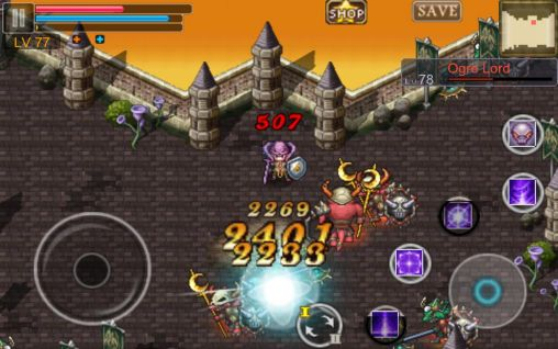 RPG-Spiele Aurum blade ex für das Smartphone