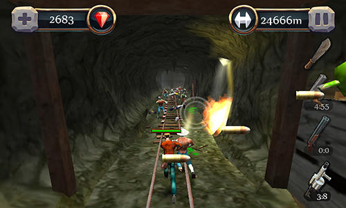 Canyon hunter: Run and shoot für Android
