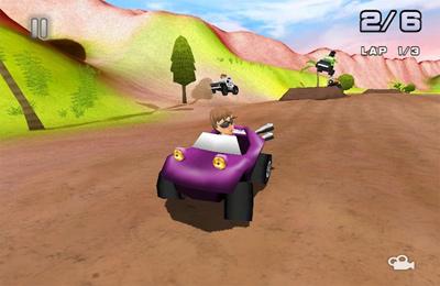 Screenshot Rennen im Paradies auf dem iPhone