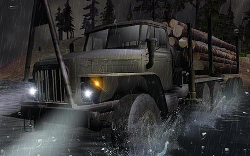 Russian trucks offroad 3D captura de pantalla 3