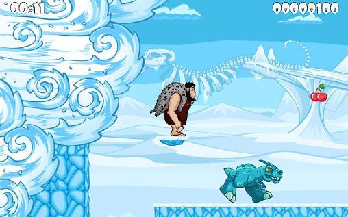 プラットホーマーゲーム Prehistoric story の日本語版