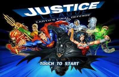 логотип Лига справедливости: Защита Земли