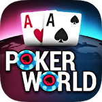 Иконка Poker world: Offline texas holdem