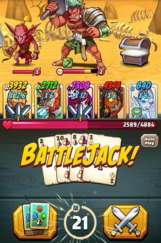 Battlejack: Blackjack RPG Screenshot