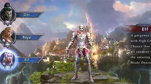 RPG Sky realm for smartphone