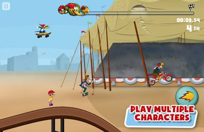 Sports games Woody Woodpecker in English