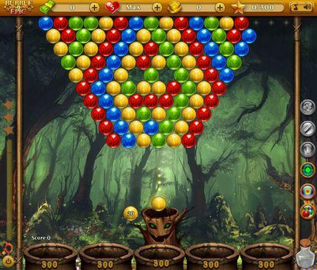 Bubble epic: Best bubble game auf Deutsch