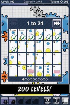 iPhone用ゲーム ギヤード のスクリーンショット