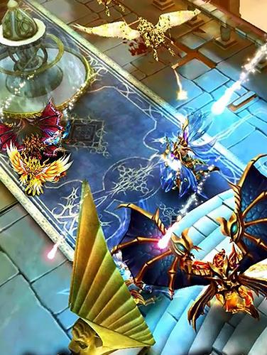 Action RPGs Knight wars: The last knight auf Deutsch