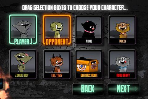 Arcade-Spiele: Lade Street Cat Fighter auf dein Handy herunter