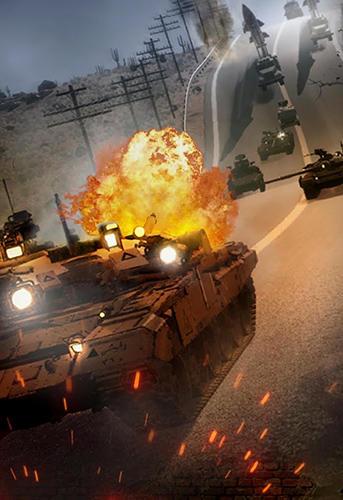 Onlinespiele Strike of nations: Empire of steel. World war MMO für das Smartphone
