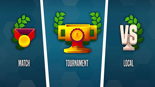 Спортивные игры: скачать Badminton league на телефон