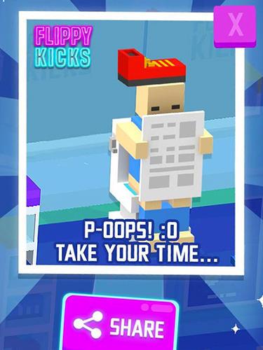 Arcade Flippy kicks für das Smartphone
