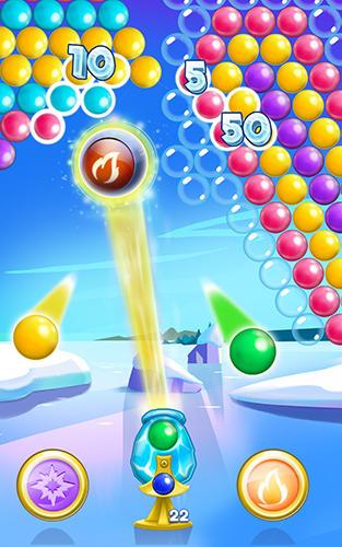 Capturas de tela de Icy bubbles