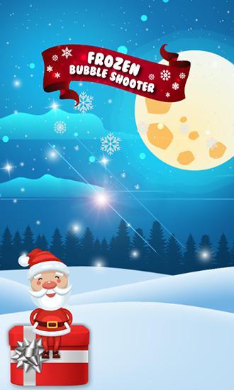 Bubble shooter: Frozen puzzle icono