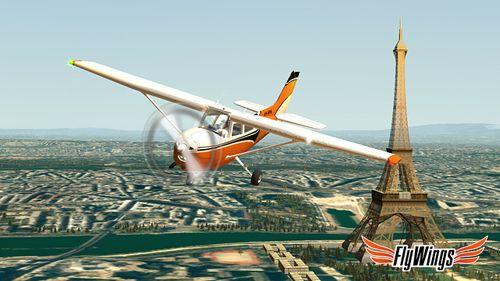 Симуляторы: скачать Flight simulator: Paris 2015 на телефон