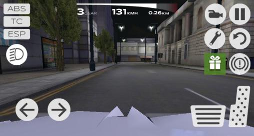 Extreme car driving simulator: San Francisco pour Android
