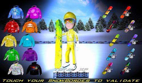 Comptétions du snowboard: Final en russe