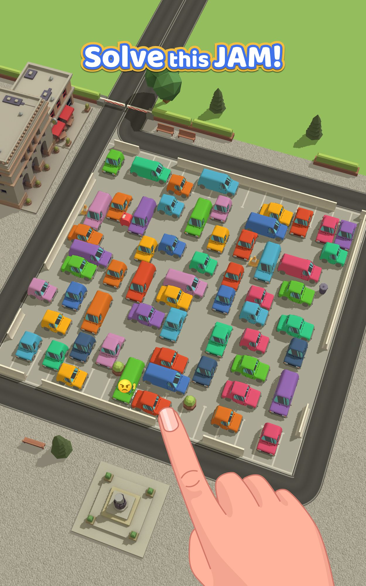 Parking Jam 3D captura de tela 1