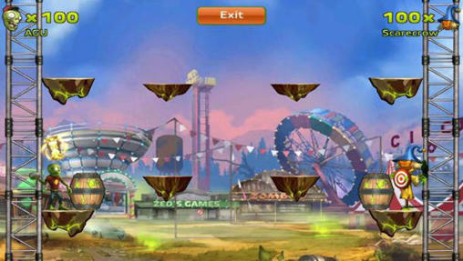 Zombie park battles para Android