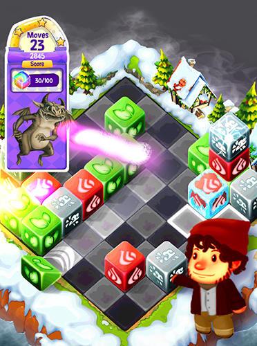 Cubis kingdoms: A match 3 puzzle adventure game auf Deutsch