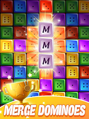 Dominoes jewel block merge Screenshot