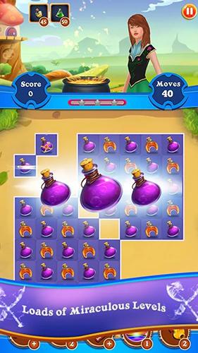 Arcade Magic puzzle: Match 3 game für das Smartphone