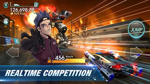Car games Viber: Infinite racer in English