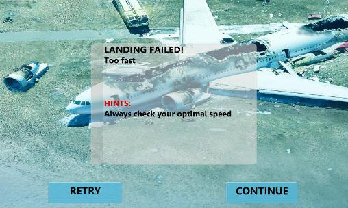 Mayday! 2: Terror in the sky. Emergency landing Screenshot