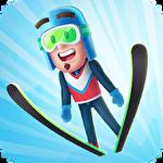 Ski jump challenge Symbol