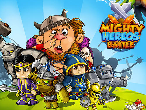 Mighty heroes battle: Strategy card game icon