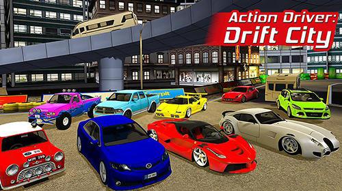 Action driver: Drift city Screenshot