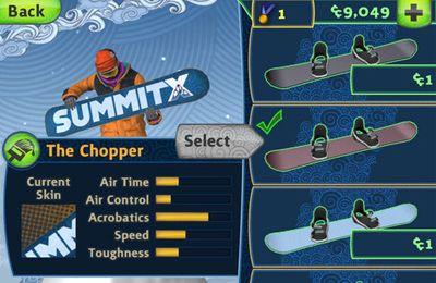 Screenshot Snowboard fahren auf dem iPhone
