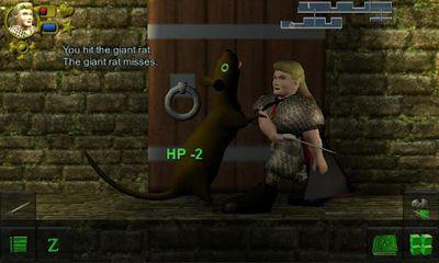 Dungeons WazHack in English