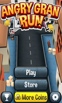 Angry Gran Run скріншот 1