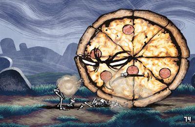 La Pizza contre les Squelettes