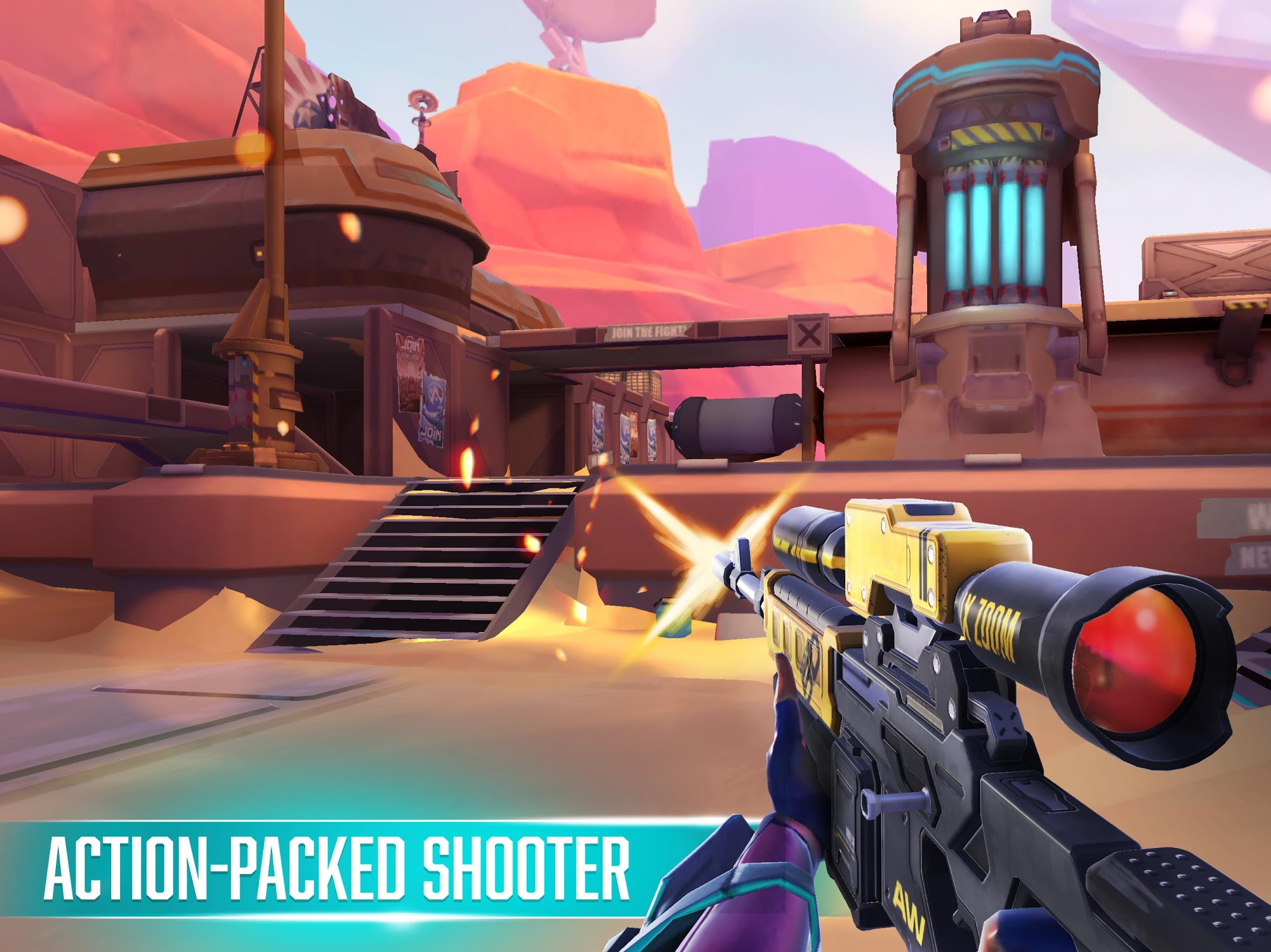 Rise: Shooter Arena para Android