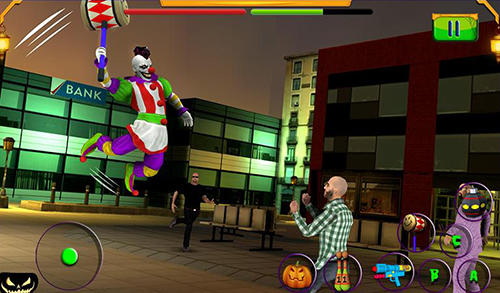Scary clown: Halloween night pour Android