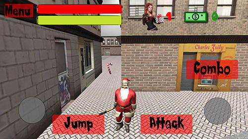 Bad Santa simulator captura de pantalla 1