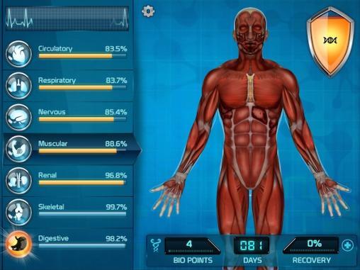 de simulateur Bio inc.: Biomedical plague pour smartphone